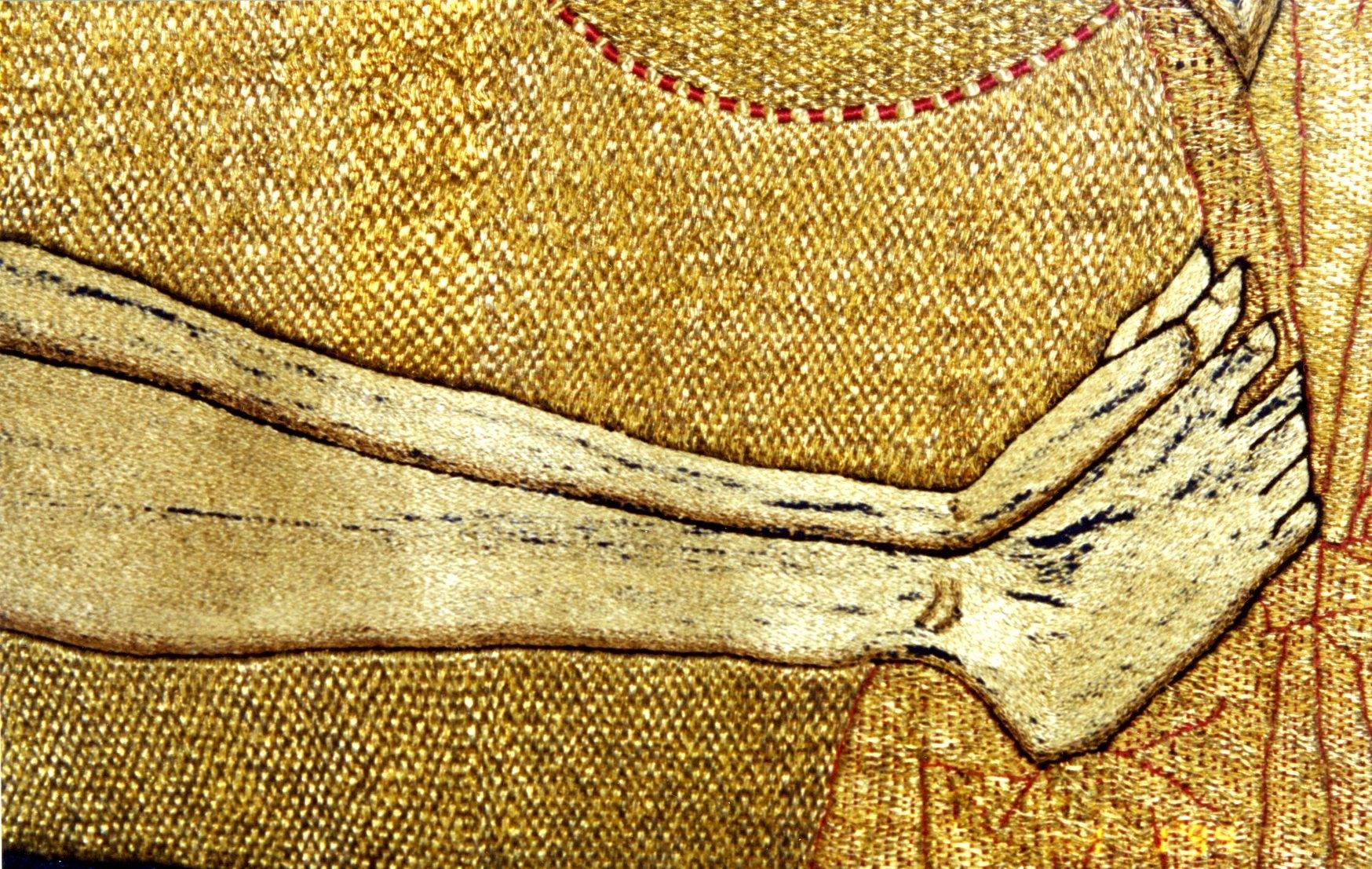 Схема вязания простых детских тапочек спицами