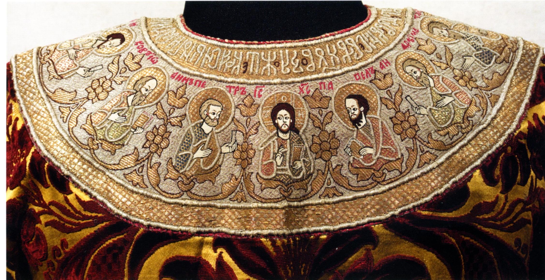 Какой Российский город с 13 века славится Золотой вышивкой по материи? 36